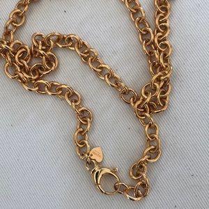 Jewelry - Bronze Milor Italia gold color heavy link necklace